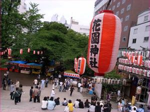 花園神社例大祭@新宿