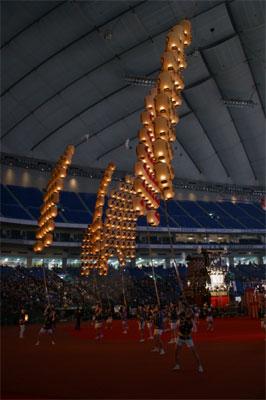秋田竿燈まつり(秋田県)