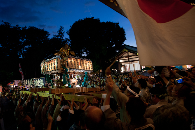 沼袋氷川神社例大祭