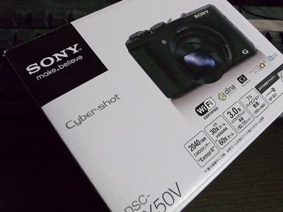 「SONY サイバーショット HX50V」を購入したっ!