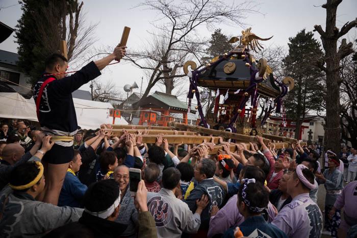 塚越稲荷 初午祭