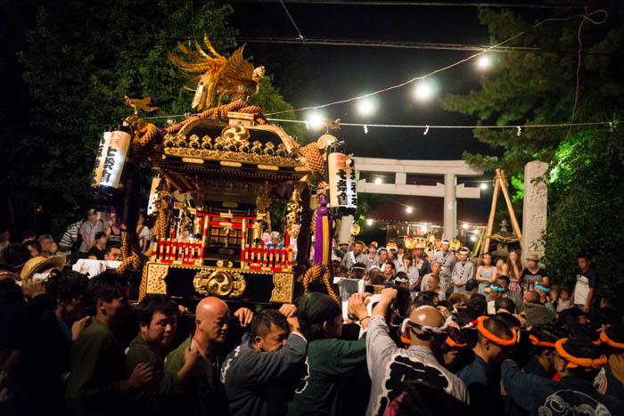 東村山八坂神社例大祭
