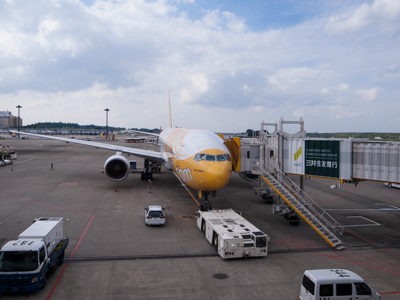 SCOOT(LCC)で行く台湾の旅。移動日。飛行機+バス+高鐵(台湾台中1日目)
