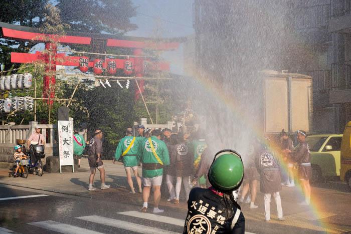 洲崎神社例大祭で宮入を見てきましたっ!