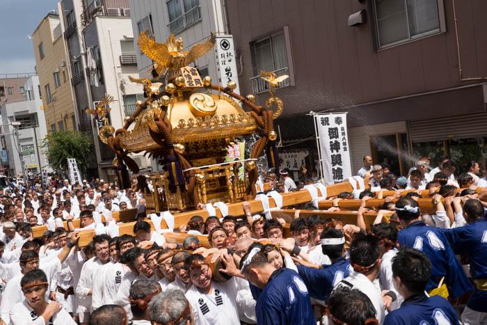 「深川神明宮例大祭」と「深川八幡祭り」に行ってきましたっ!