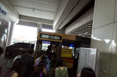 エアアジアで行くバンコクの旅。(タイ:バンコク1日目)
