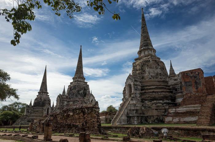 世界遺産アユタヤ観光。(タイ:バンコク2日目)