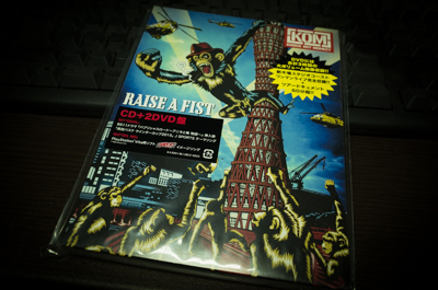 KNOCK OUT MONKEY「RAISE A FIST」