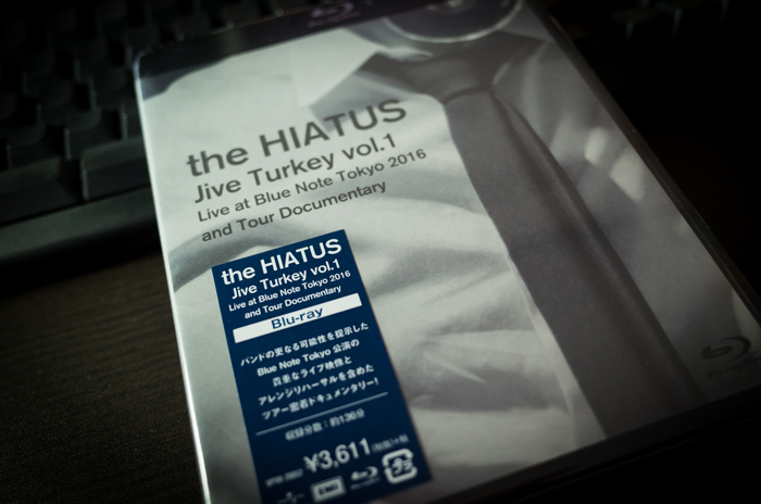 the HIATUS「Jive Turkey vol.1 Live at Blue Note Tokyo 2016 and Tour Documentary」