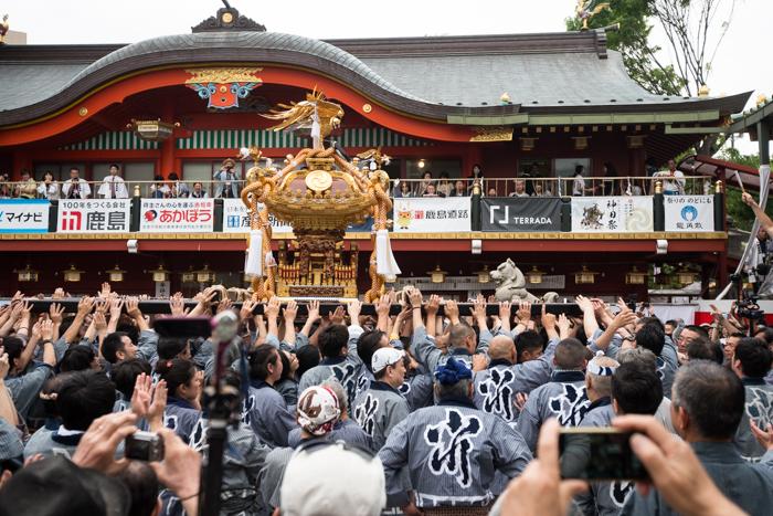 神田祭に宮入を見に行ってきましたっ!