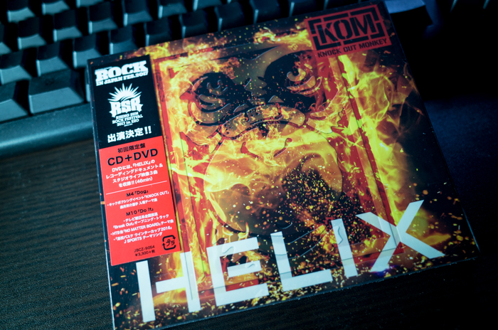 KNOCK OUT MONKEY「HELIX」