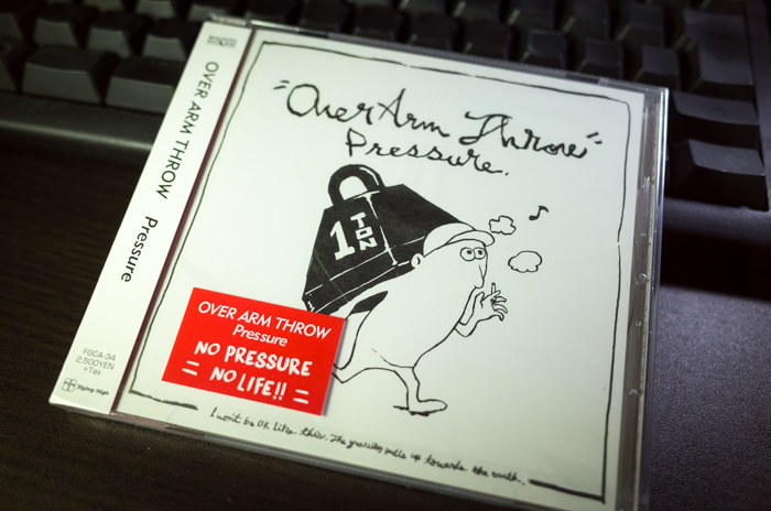 OVER ARM THROW「Pressure」