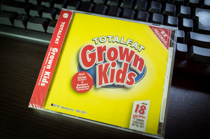 TOTALFAT「Grown Kids」