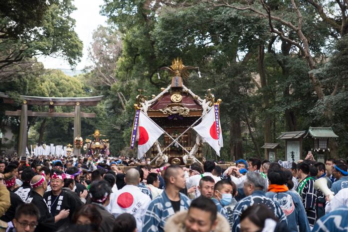 建国祭(紀元祭)[2018]明治神宮で神輿渡御を見てきたっ!
