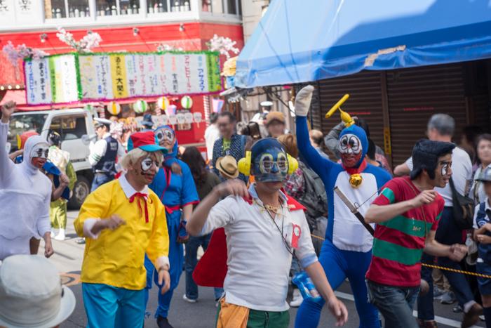 第63回赤羽馬鹿祭りで神輿パレードを見てきたっ!