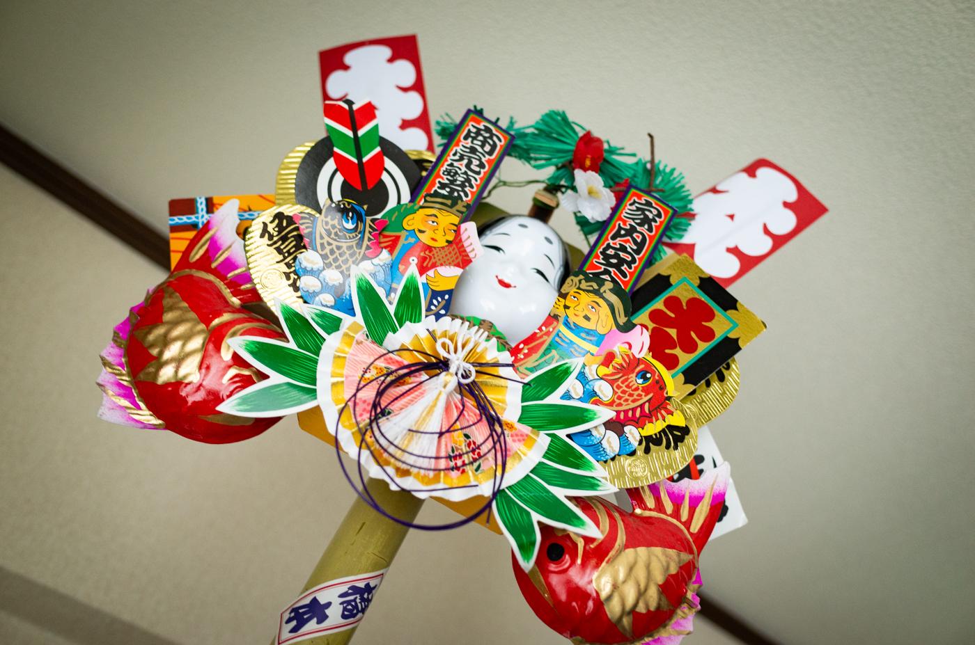 新宿花園神社「酉の市(三の酉)」で熊手を買ってきたっ!