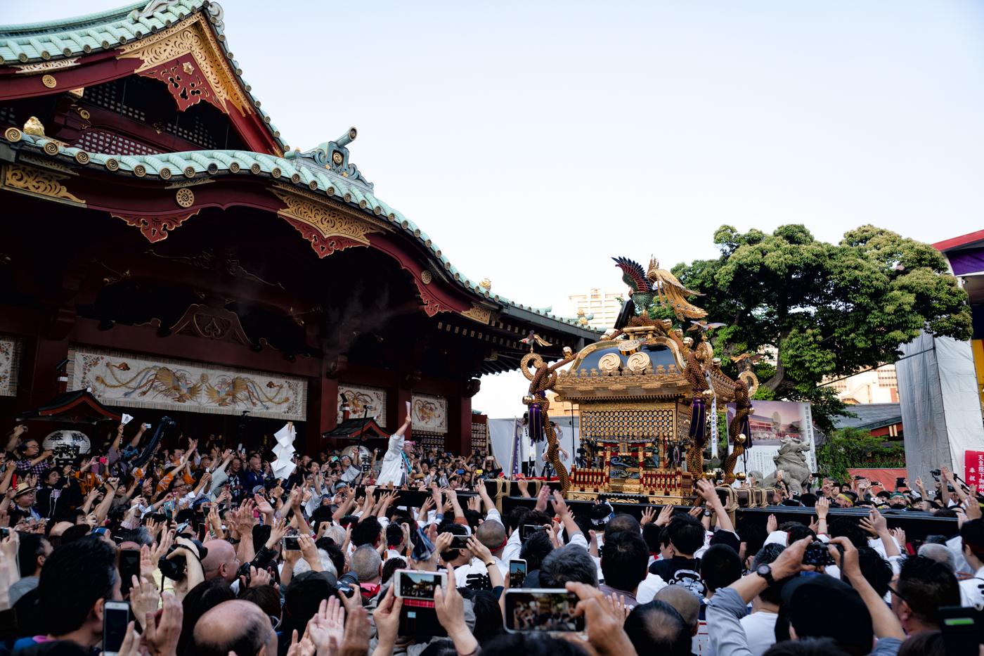 神田祭(神幸祭)で宮入を見てきましたっ!