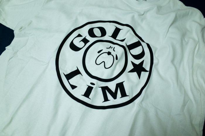 GOLD LiM Tシャツ