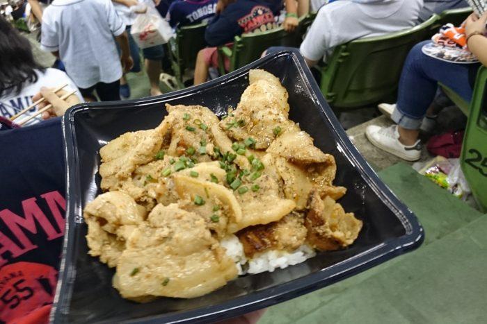 バーベキューポーク丼