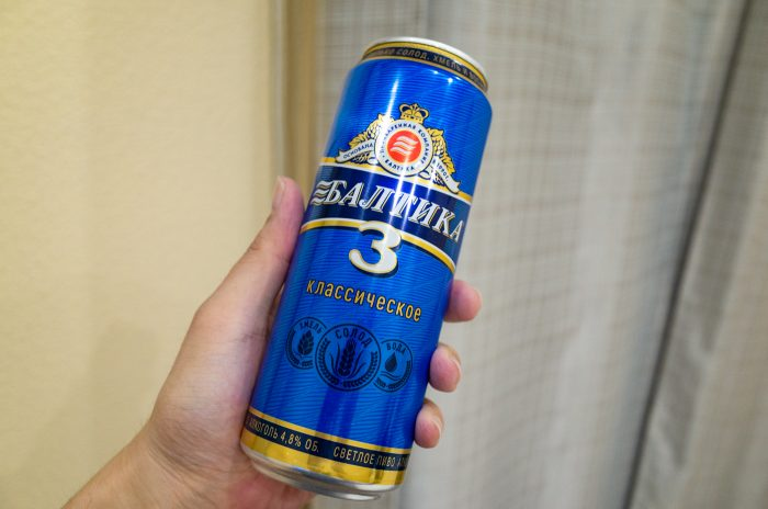 バルチカ3ビール