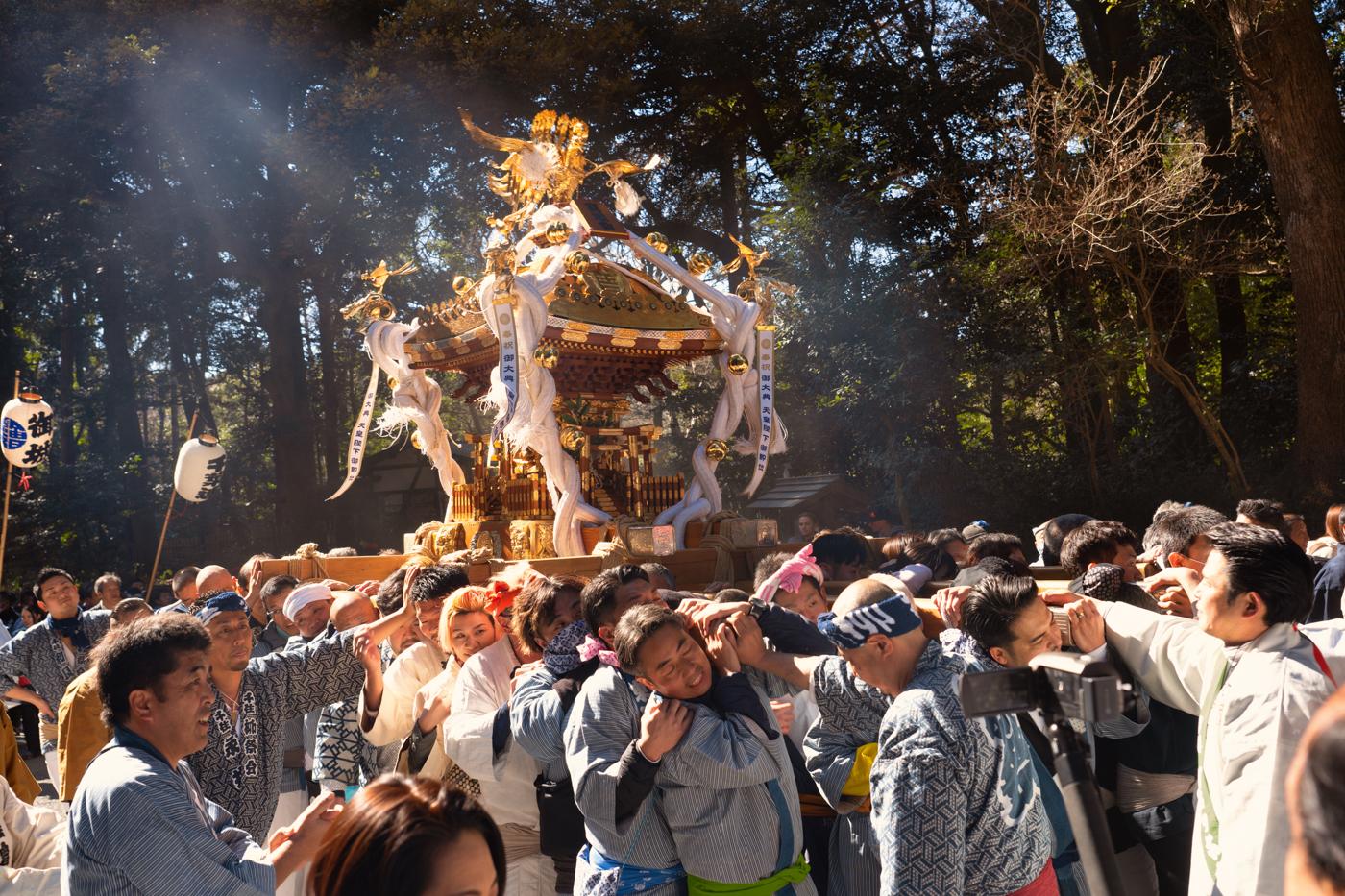建国祭(紀元祭)[2020]明治神宮で神輿渡御を見てきたっ!