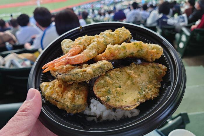 海鮮塩天丼
